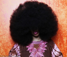 Meet The Lady With The Biggest Afro According To The Guiness Book Of World Records 2