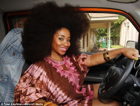Meet The Lady With The Biggest Afro According To The Guiness Book Of World Records 3